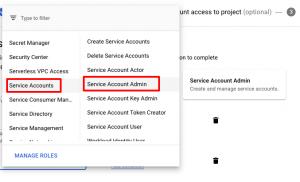 Service account 7