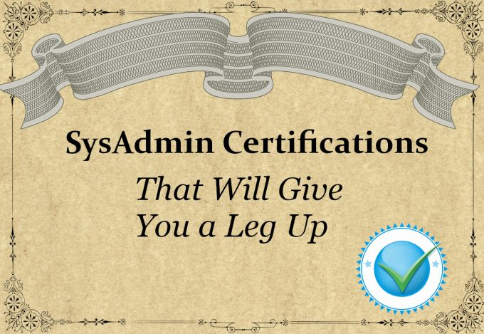 sysadmin certifications