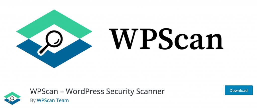 Banner for WPScan WordPress Security Scanner