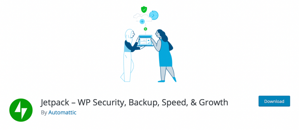 "Banner for ""Jetpack - WP Security, Backup, Speed, & Growth"""