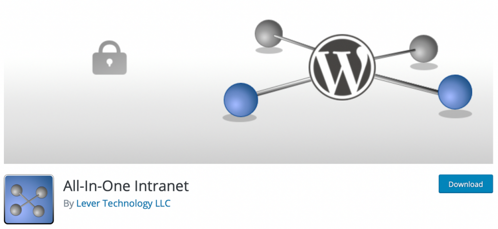 "Banner for ""All-in-One"" intranet plugin"