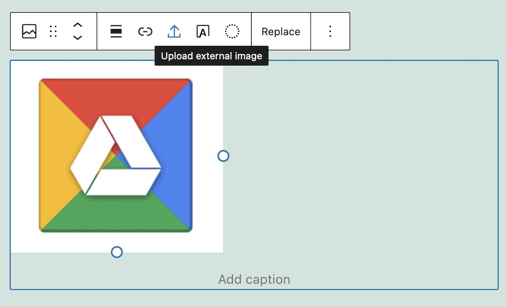 A WordPress Image Block.